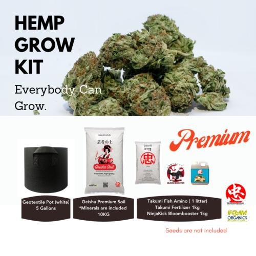 Hemp Grow Kit - Maruchu Bussan